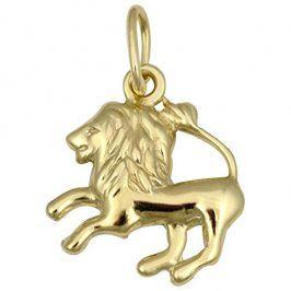 Brilio Zlatý přívěsek Lev 241 001 00814 - 0,35 g