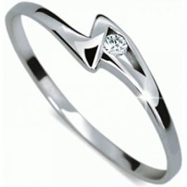 Danfil Zásnubní prsten s diamantem DF1138b 52 mm