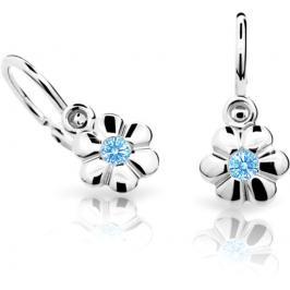 Cutie Jewellery Dětské náušnice C1736-10-X-2 modrá