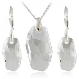 MHM Souprava šperků Meteor Crystal 34183 (náušnice, řetízek, přívěsek)