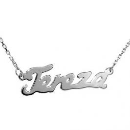 Silvego Stříbrný náhrdelník se jménem Tereza