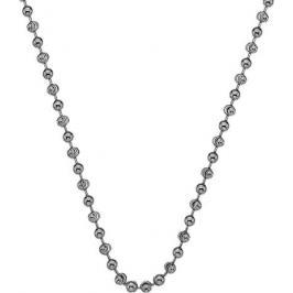 Hot Diamonds Stříbrný řetízek Emozioni Rhod Plated Bead Chain 45 CH016