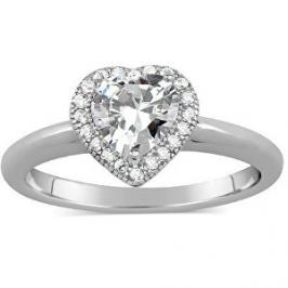 Silvego Stříbrný prsten s micro zirconia JJJR0103 52 mm