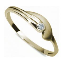 Danfil Jemný prsten s diamantem DF1662z 50 mm