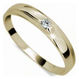 Danfil Jemný diamantový prsten DF1617z 54 mm