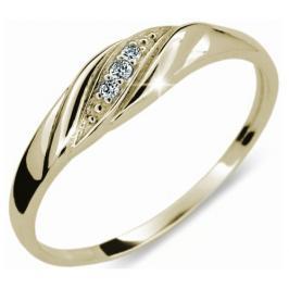 Danfil Jemný diamantový prsten DF2084z 53 mm
