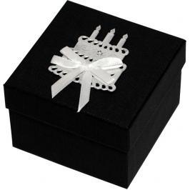 Giftisimo Luxusní dárková krabička se stříbrným dortem GF0001