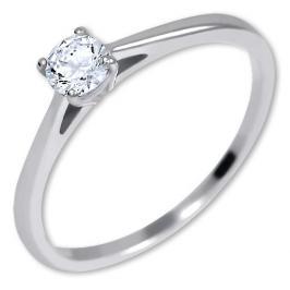 Brilio Silver Stříbrný zásnubní prsten 426 001 00539 04 55 mm