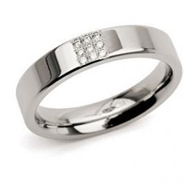 Boccia Titanium Titanový prsten s diamanty 0121-02 57 mm