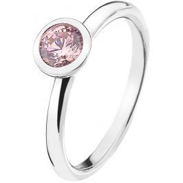 Hot Diamonds Stříbrný prsten Emozioni Scintilla Pink Compassion ER017 53 mm