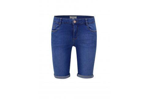 Modré kraťasy Dorothy Perkins Petite Kalhoty, kraťasy