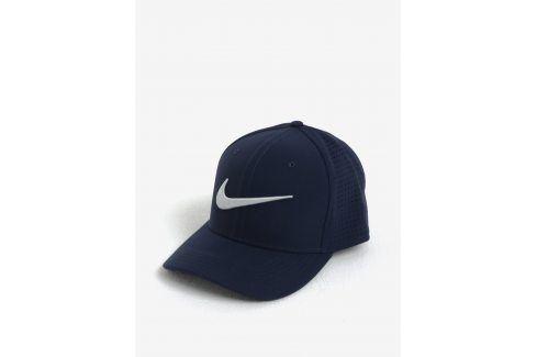 Tmavě modrá unisex funkční kšiltovka Nike kšiltovky