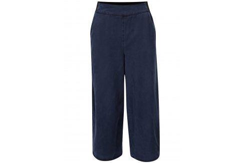 Tmavě modré culottes s rozparky VILA Joannes Džíny, kalhoty, legíny