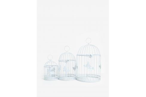 Sada tří dekorativních klecí s ozdobnými motýly Dakls Doplňky do bytu
