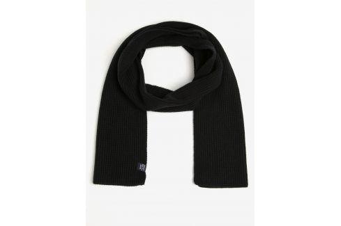 Černá pánská šála GANT čepice, šály, rukavice