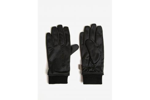 Černé pánské rukavice adidas Originals čepice, šály, rukavice