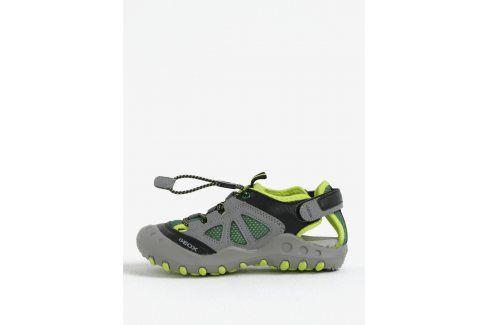 Zelené klučičí sandály Geox Boty
