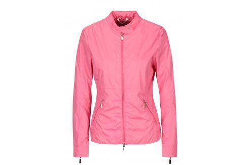 Růžová dámská lehká bunda Geox bombery, lehké bundy