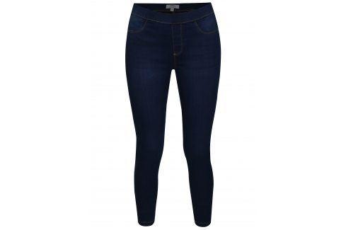 Tmavě modré zkrácené jeggings Dorothy Perkins Džíny, kalhoty, legíny