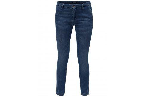 Modré zkrácené slim džíny s nízkým sedem Fornarina Kate Džíny, kalhoty, legíny