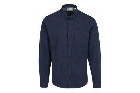 Tmavě modrá košile Shine Original neformální
