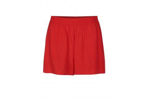 Červené kraťasy s kapsami ONLY Nova Kalhoty, kraťasy