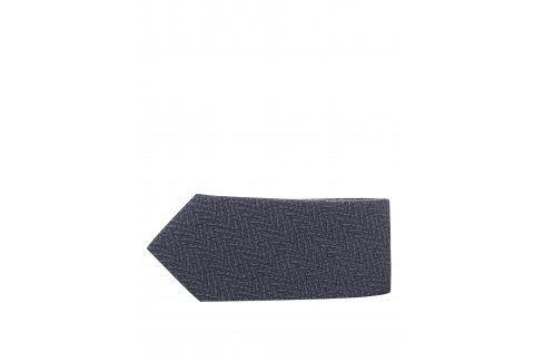 Šedá vzorovaná kravata Selected Homme New kravaty