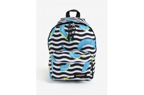 Modro-černý vzorovaný batoh Eastpak Orbit 10 l Batohy