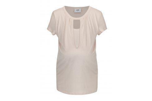 Světle růžové kojicí tričko Mama.licious Rie Móda pro těhotné