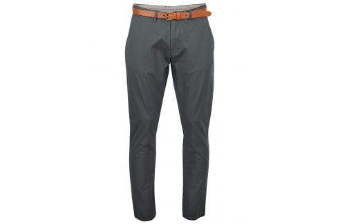 Zelenošedé slim fit chino kalhoty  Selected Homme Yard kalhoty