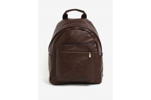 Hnědý batoh s kapsou Bobby Black batohy a zavazadla