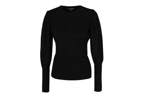 Černý svetr s balónovými rukávy Miss Selfridge Móda pro ženy