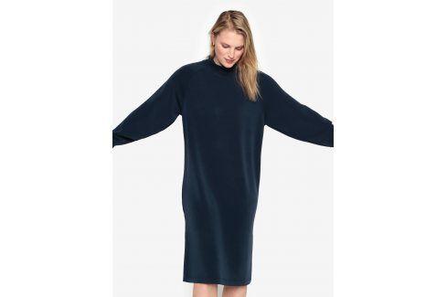 Tmavě modré oversize šaty Selected Femme Tea šaty na denní nošení