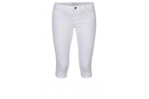 Bílé kraťasy s nízkým pasem Jacqueline de Yong Five Kalhoty, kraťasy