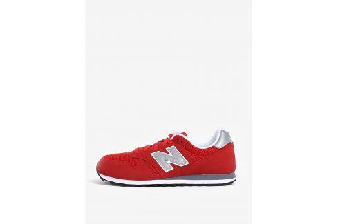 Červené pánské semišové tenisky New Balance ML373 tenisky, kecky