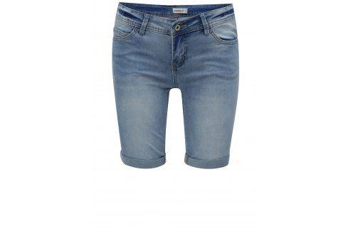 Světle modré džínové kraťasy s nízkým pasem Haily's Jenny Kalhoty, kraťasy