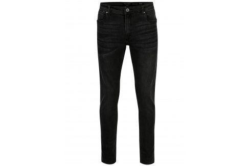 Tmavě šedé pánské džíny Broadway Ryan džíny