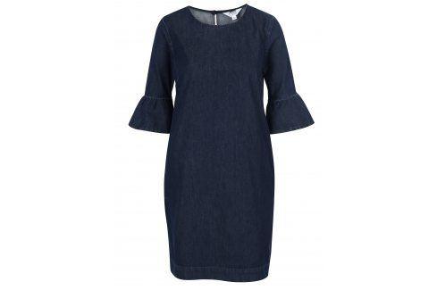 Tmavě modré džínové šaty Miss Selfridge šaty na denní nošení