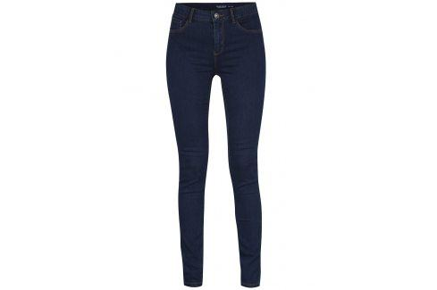 Modré slim fit džíny VERO MODA Seven Džíny, kalhoty, legíny