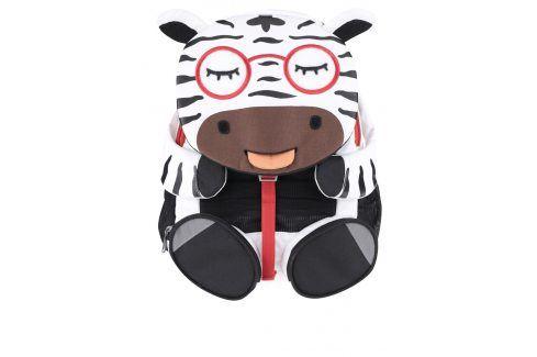 Černo-bílý batůžek ve tvaru zebry Affenzahn Tašky a batohy