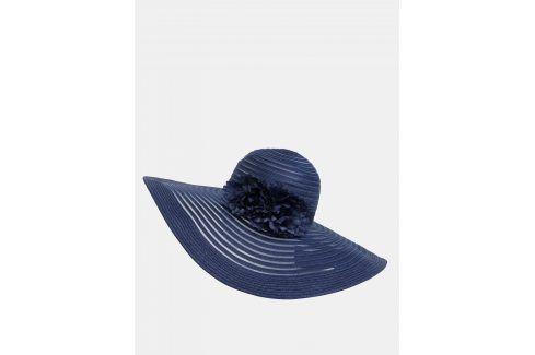 Tmavě modrý klobouk s ozdobnými květy Dorothy Perkins čepice, čelenky, klobouky