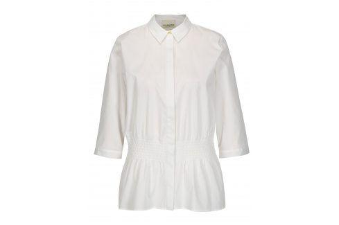 Bílá košile s 3/4 rukávy Selected Femme Camille košile