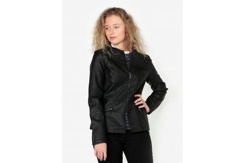 Černá koženková bunda Oasis Faux koženkové, kožené bundy