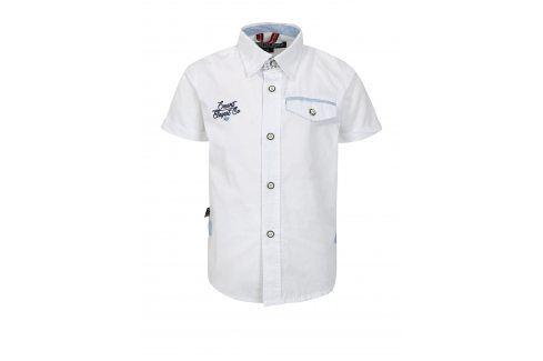 Bílá klučičí košile s kapsou North Pole Kids Košile