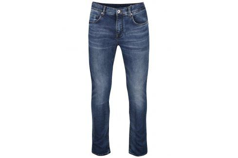 Modré vyšisované džíny Selected Homme Two Mario džíny