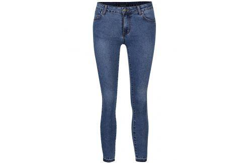 Modré slim džíny VILA Commit Džíny, kalhoty, legíny