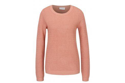 Růžový svetr VILA Chassa Móda pro ženy