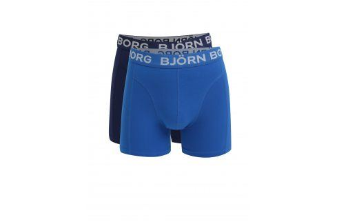 Sada dvou boxerek v modré barvě Björn Borg boxerky