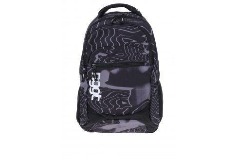 Černo-šedý vzorovaný batoh NUGGET Scrambler 26 l Batohy