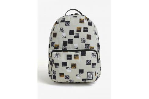 Béžový batoh s barevným potiskem The Pack Society 18 l Batohy